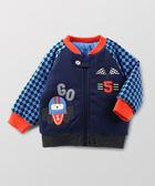 【限時5折】Hallmark Babies 動物大賽車夾棉長袖外套 HC3-A08-04-BB-PB