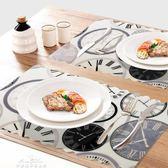 防水防燙防滑餐墊 簡約盤子碗墊鍋墊餐桌墊隔熱墊4片裝「夢娜麗莎精品館」