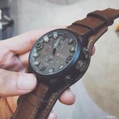 英國小眾手錶男潮流韓版個性學生抖音中國警特種兵男士大錶盤超大 一米陽光