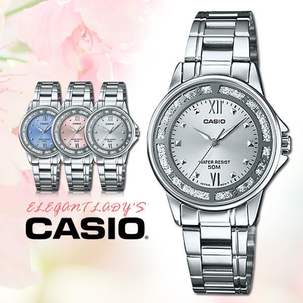 CASIO 手錶 專賣店 國隆  LTP-1391D-7A   女錶 指針錶 不鏽鋼錶帶 銀面 三折疊錶扣 防水 全新
