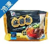 點線麵麻醬麵240g X2入/包【愛買冷凍】