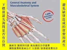 二手書博民逛書店Thieme罕見Atlas Of Anatomy Image Collection--general Anatom
