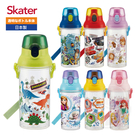 Skater 直飲式透明水壺 (480ml)(多種款式)【佳兒園婦幼館】