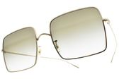 OLIVER PEOPLES 太陽眼鏡 RASSINE 50358E (金-漸層綠鏡片) 復古大方框款 墨鏡 # 金橘眼鏡