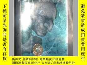 二手書博民逛書店原版英文書《罕見Amulet of Samarkand, The