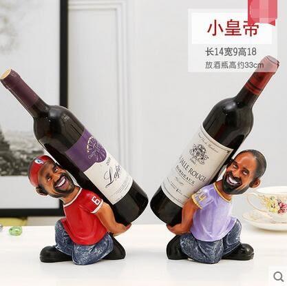 創意歐式客廳酒瓶架紅酒杯架樹脂葡萄酒架高腳杯架