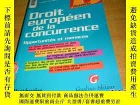 二手書博民逛書店Droit罕見européen de la concurrenc