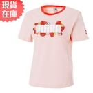 【現貨】PUMA Floral 女裝 短袖 純棉 休閒 慢跑 花卉 印花 粉 亞規【運動世界】53204227