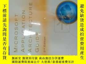 二手書博民逛書店Microsoft罕見Application Architect