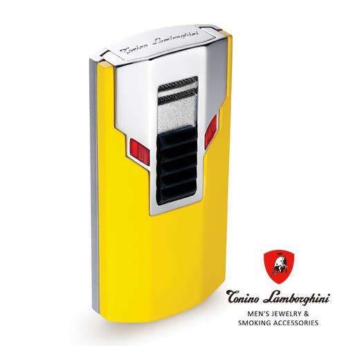 義大利 藍寶堅尼精品 - ESTREMO LIGHTER 打火機(黃色) ★ Tonino Lamborghini 原廠進口 ★