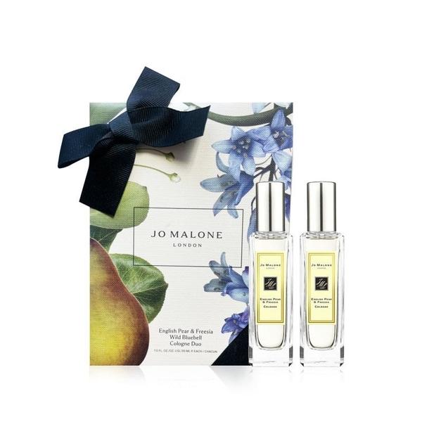 【南紡購物中心】JO MALONE 英國梨與小蒼蘭&藍風鈴經典香氛組 30mlx2