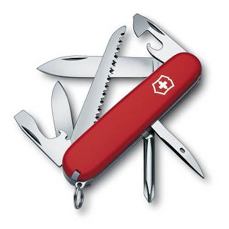 瑞士 維氏 Victorinox Hiker 健行者系列瑞士刀 13種功能 1.4613 露營│登山