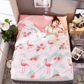 睡袋 旅行隔臟便攜式室內雙人單人旅游出差防臟被套床單 晶彩生活