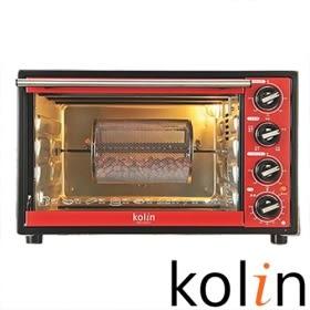 歌林 3D旋轉烤籠電烤箱  烤籠及轉叉均為304不鏽鋼材質 28公升大容量