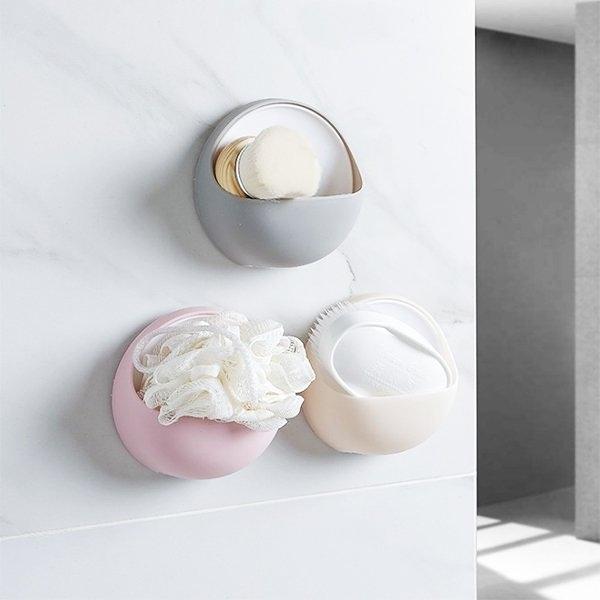 浴室用品 北歐風香皂壁掛收納盒 置物架 【ZRV110】收納女王