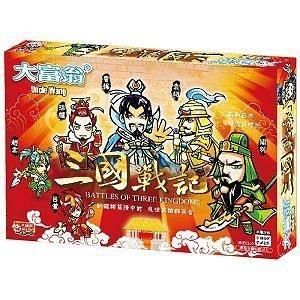 『高雄龐奇桌遊』 大富翁 三國戰記 繁體中文版 正版桌上遊戲專賣店