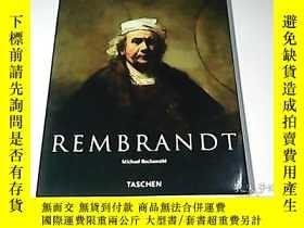 二手書博民逛書店Rembrandt,罕見1606-1669: The Mystery of the Revealed Form