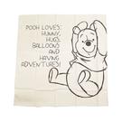 《SKATER》小熊維尼日本製大面積純棉餐巾(素描)★funbox生活用品★_AT36134