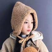 秋冬季兒童保暖加絨雷鋒帽男女寶寶滑雪毛絨護耳帽子大童防風盆帽 暖心生活館