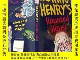 二手書博民逛書店horrid罕見Henry s haunted house 可怕 的亨利鬼屋..,Y200392