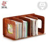 CD架木質收納創意展示架DVD光碟影片架光盤儲物櫃盒子F1003 XW