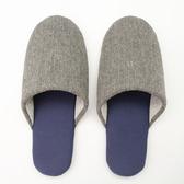 日系印花包口拖鞋-素色深灰26