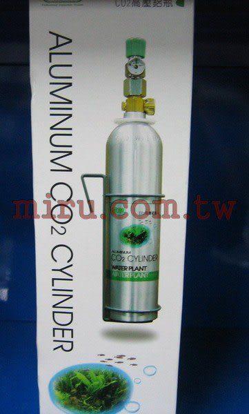 【西高地水族坊】ISTA伊士達 CO2高壓鋁合金鋼瓶(鋁瓶)(附單錶微調及掛架)(1L)
