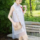 交換禮物漢服新款改良旗袍漢服中式漢元素孕婦日常古風女裝 貝芙莉