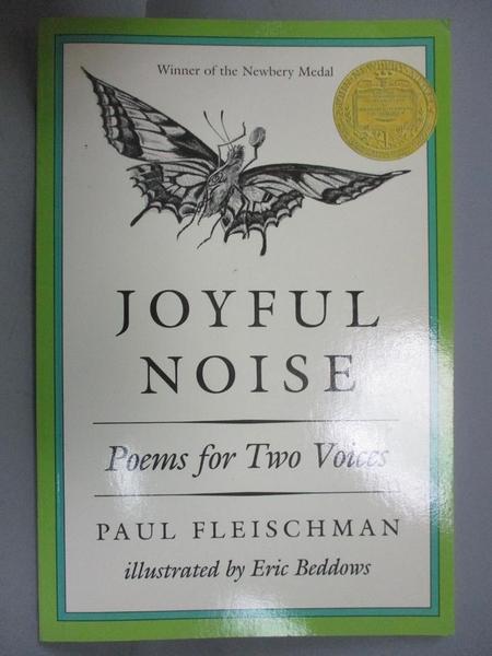 【書寶二手書T9/電玩攻略_ZIF】Joyful Noise_Fleischman, Paul/ Beddows, Eric (ILT)