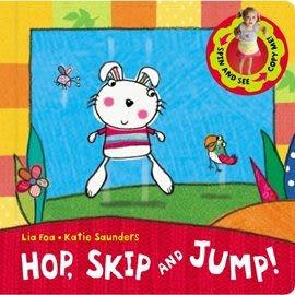 【幼兒律動學習】hop skip AND JUMP /硬頁操作書