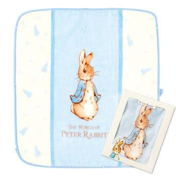 【奇哥】比得兔嬰兒防踢袖毯 (藍色)(80x90公分)