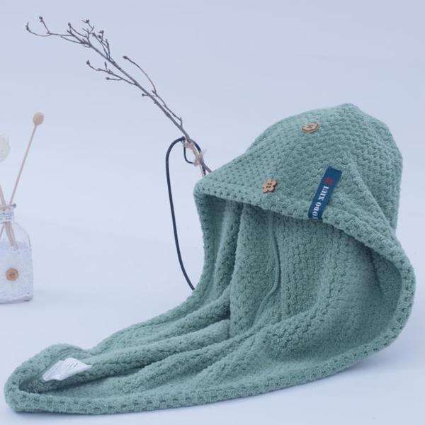 出口日本超強吸水干發帽女包頭巾成人速干浴帽長發頭發干發毛巾魔方數碼
