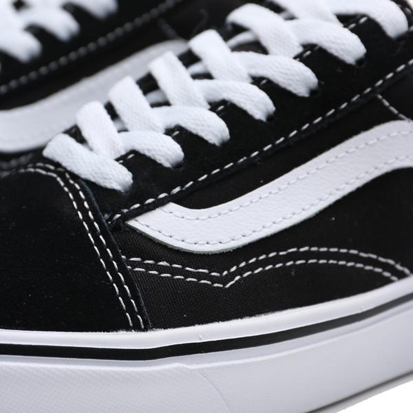 VANS 休閒鞋 COMFYCUSH OLD SKO 黑白 基本款 女 (布魯克林) VN0A3WMAVNE