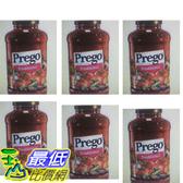 [COSCO代購  如果沒搶到鄭重道歉]  W918717 Prego 普格 原味義大利麵醬 1.27公斤 (六入裝)