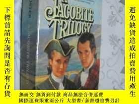 二手書博民逛書店 A罕見JACOBITE TRILOGY: FLIGHT OF THE HERON , GLEAM IN