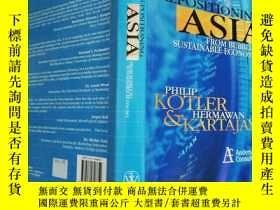 二手書博民逛書店REPOSITIONING罕見ASIA: FROM BUBBLE
