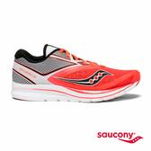 SAUCONY KINVARA 9 專業訓練鞋款-白x黑x橘紅