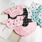 3條 寶寶圍嘴口水巾純棉嬰兒防水男女寶寶造型八角圍兜飯兜吾本良品
