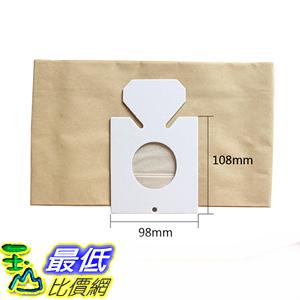 [106玉山最低比價網] 日立HITACHI吸塵器副廠集塵袋 垃圾紙袋 CV-T41,CV-T45,CV-T46,CV-T885 10入裝( K62)