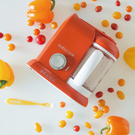 【加贈澱粉專用烹調籃】BEABA BabyCook Solo 嬰幼兒副食品調理器 (紅色)~總代理公司貨
