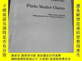 二手書博民逛書店finite罕見markov chains 有限馬爾科夫鏈(英文