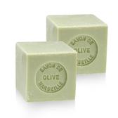 [2入組]法國進口戴奧飛‧波登 方塊馬賽皂- 橄欖油    100g(約4.5x4.5x4.5cm)