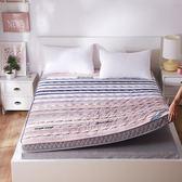 床墊 加厚保暖10cm海綿床墊1.5\1.8m雙人可折疊榻榻米學生宿舍床褥地鋪 提前降價 春節狂歡
