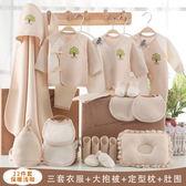 嬰兒衣服22件組棉質新生兒彌月禮盒套組推薦jj