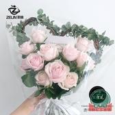 【50支/包】單支玫瑰包裝袋鮮花包裝透明OPP花束包裝紙【福喜行】