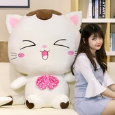 可愛貓咪公仔毛絨玩具小布偶洋娃娃超萌玩偶抱著睡覺大號女孩韓國   LannaS