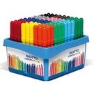 【義大利 GIOTTO】524000  可洗式兒童安全彩色筆(12色108支)附分色筆座 /盒