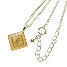 Roberta di Camerino 義大利個性風菱形項鍊(金色)990167
