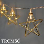 TROMSO-LED金色光芒星10燈串