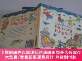 二手書博民逛書店Little罕見Book of Nursery RhymesY9740 Printed in China